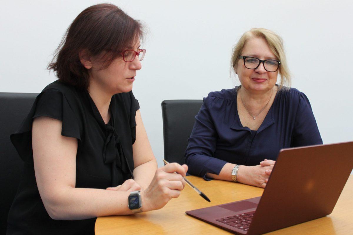 Photo of Lidia Omniski and Isabella Marchetti